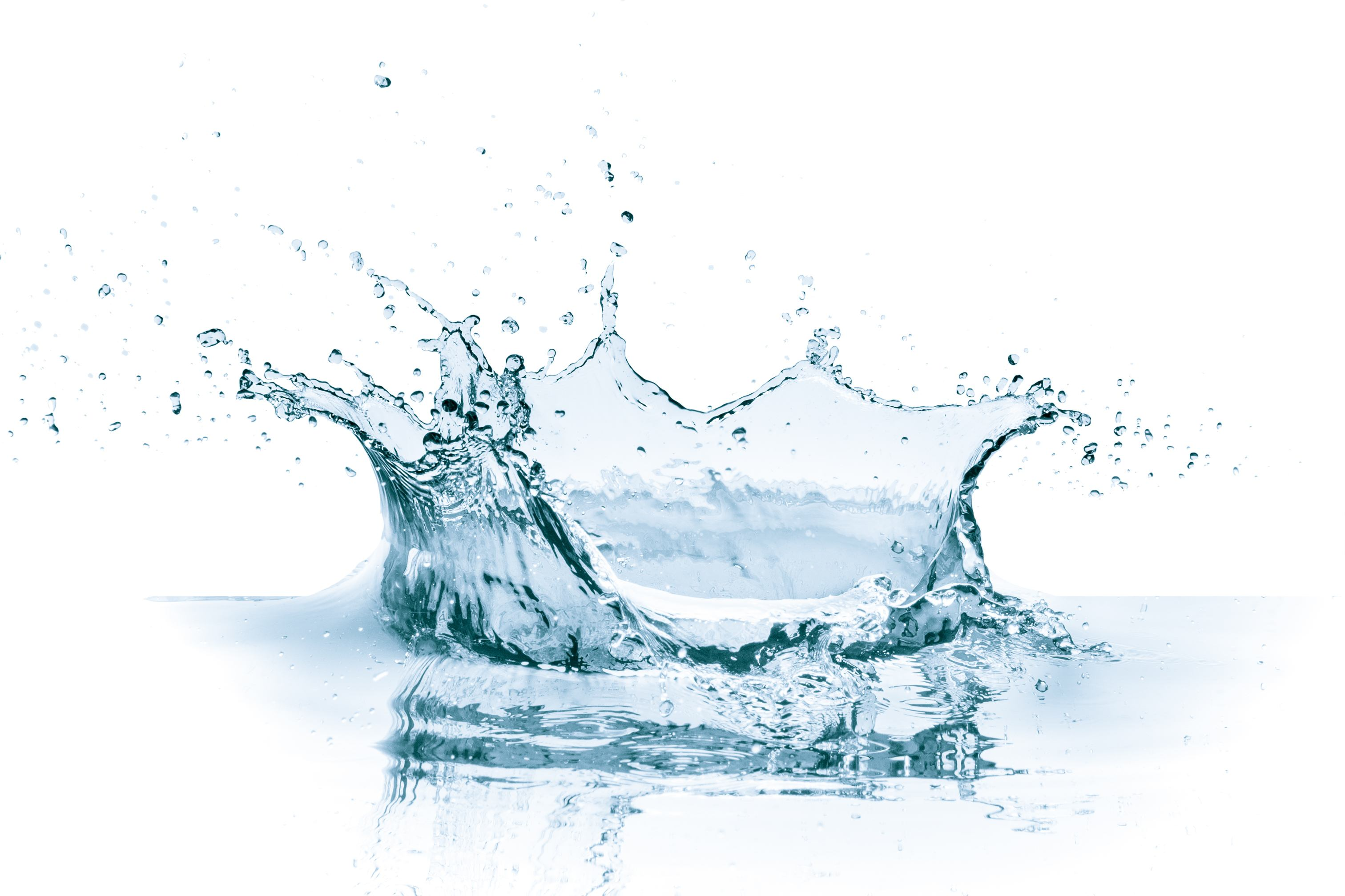 Large Water Dropping Compressed